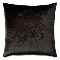 Antiquity Medusa Decorative Pillow