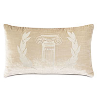 Antiquity Greece Decorative Pillow