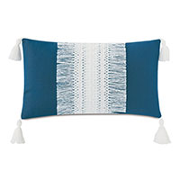 Palermo Tassel Decorative Pillow in Lagoon
