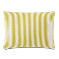 Villa Reversible Decorative Pillow in Lemon