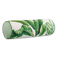 Abaca Banana Leaf Bolster in Cloud