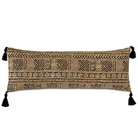 Seydou Tassel Decorative Pillow in Natural