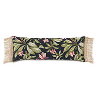 Kamehameha Fringe Edge Decorative Pillow
