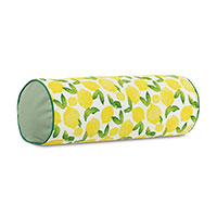 Knowles Lemon Print Bolster