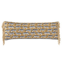 Prowling Fringe Decorative Pillow