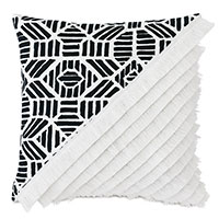 Madaba Colorblock Decorative Pillow (Right)