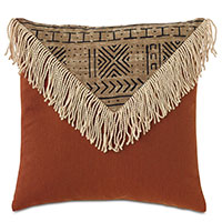 Seydou Color Block Decorative Pillow in Natural