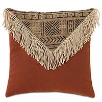 Seydou Color Block Decorative Pillow in Natural