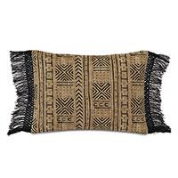 Seydou Fringe Decorative Pillow in Natural