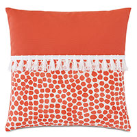 Toodles Fringe Decorative Pillow