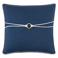 Isle Bamboo Knot Decorative Pillow