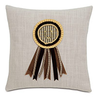 Equestrian Ribbon Decorative Pillow