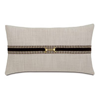 Aiden Gold Buckle Decorative Pillow