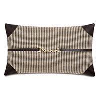 Aiden Contrasting Corners Decorative Pillow