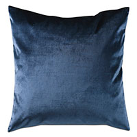 Geode Velvet Decorative Pillow in Midnight