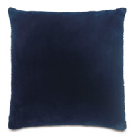 Fur Navy Pillow