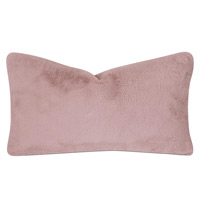 Spectator Faux Fur Decorative Pillow