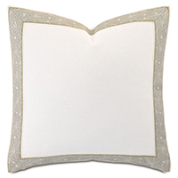 Palisades Mitered Trim Decorative Pillow