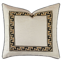 Park Avenue Metallic Decorative Pillow