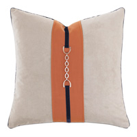 Ladue Accent Pillow In Taupe
