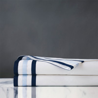 Watermill Indigo Flat Sheet