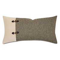 Rustic Lodge King Sham Left