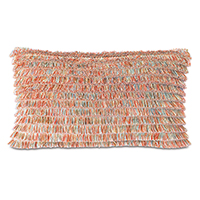 Bimini Brush Fringe Decorative Pillow