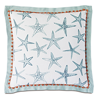 Bimini Flange Decorative Pillow