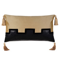 Roxanne Faux Leather Decorative Pillow