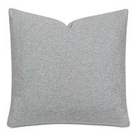 Vincent Textured Decorative Pillow In Heather