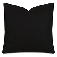 Vincent Textured Decorative Pillow In Carbon