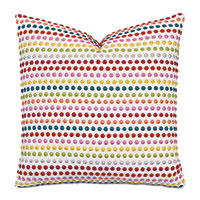 Zita Embroidered Decorative Pillow