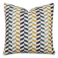 Sassy Broken Chevron Decorative Pillow