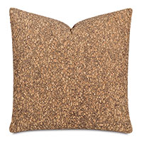 Querkus Cork Decorative Pillow In Tan