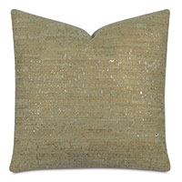 Ilex Cork Decorative Pillow In Green