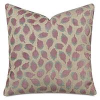 Ocelot Decorative Pillow In Mauve