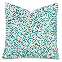 Tapir Decorative Pillow In Teal