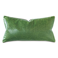 Tudor Decorative Pillow In Kelly Green
