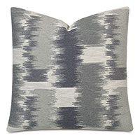 Shea Woven Decorative Pillow in Charcoal