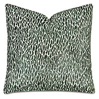 Earl Woven Decorative Pillow In Emerald