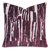 Rivia Velvet Decorative Pillow in Wildberry