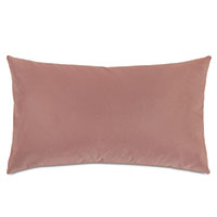 Uma Velvet Decorative Pillow In Pink