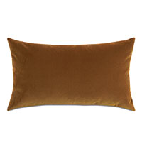 Uma Velvet Decorative Pillow In Gold
