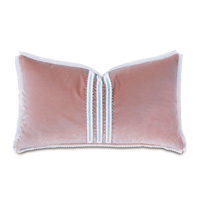 Adare Manor Lace-Trim Decorative Pillow