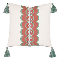 Bingham Tassel Decorative Pillow