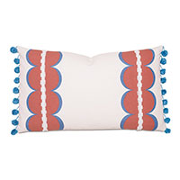 Bingham Ball Trim Decorative Pillow