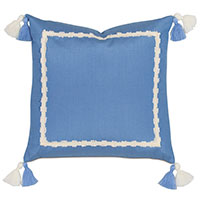 Everglades Double Tassel Decorative Pillow