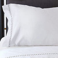 Ona Charcoal Pillowcase