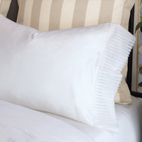 Abingdon White Pillowcase