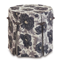 Poppy Smoke Skirted Table Cloth